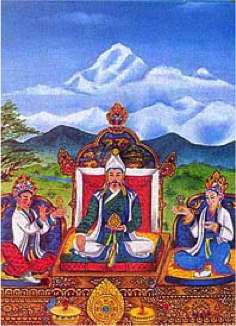songtsen-gampo-with-wencheng-and-devi
