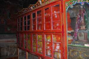 Temple Library, Basgo, Ladakh. Photo G. Halkias.